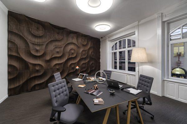 moko volga 3d wood panel