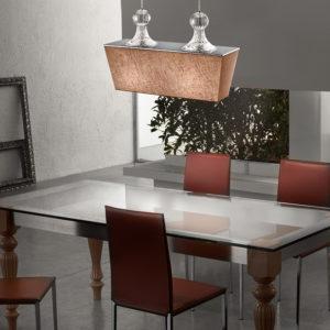Lucernae sospensione in metallo vetro stoffa so55 300x300 - Lucernae SO