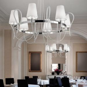 rondo lampada sospensione LA6 white 300x300 - Rondo LA