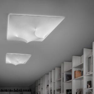 morosini inout lampada soffitto PL120 white 300x300 - In&Out