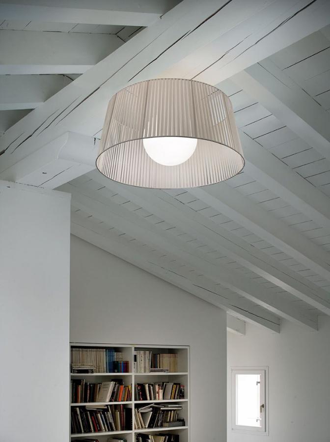 morosini ribbon lampada sosopensione PL80 ivory 765x1024 - Ribbon PL