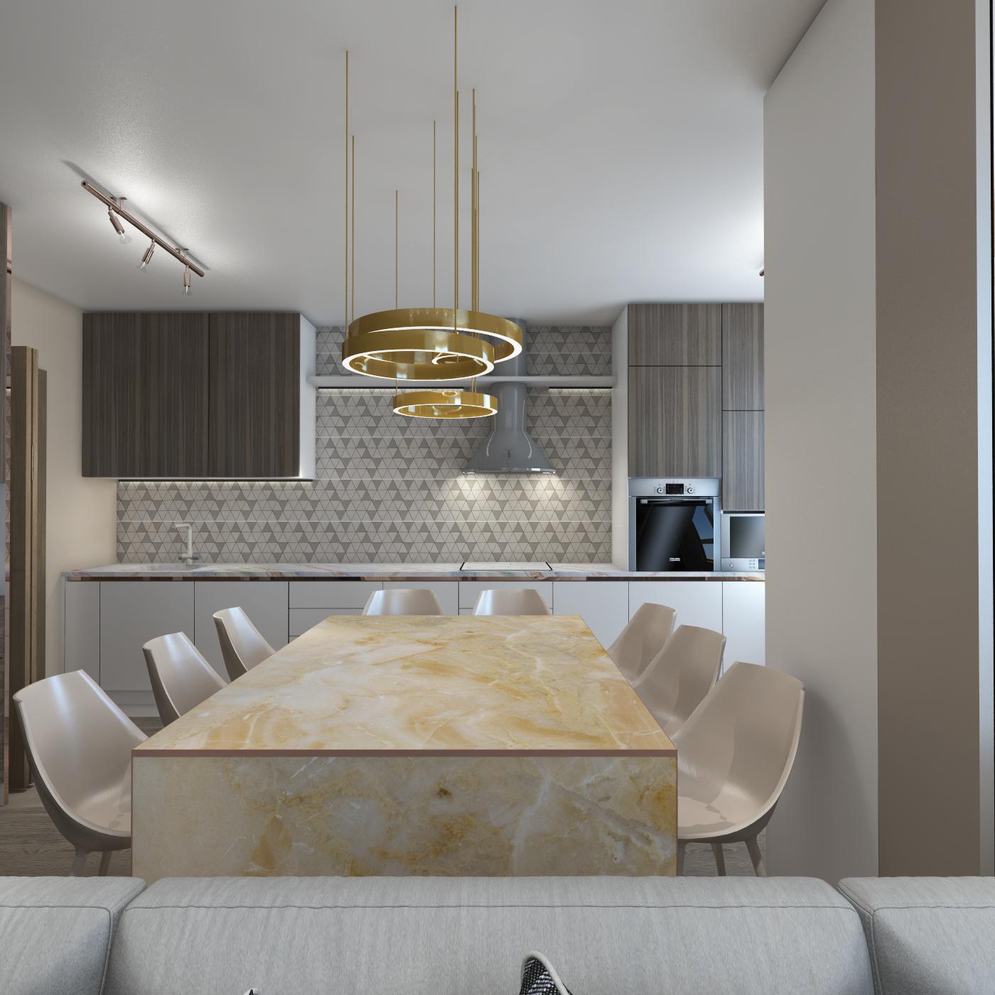 accamera 12 - Кухня-гостиная в стиле Contemporary