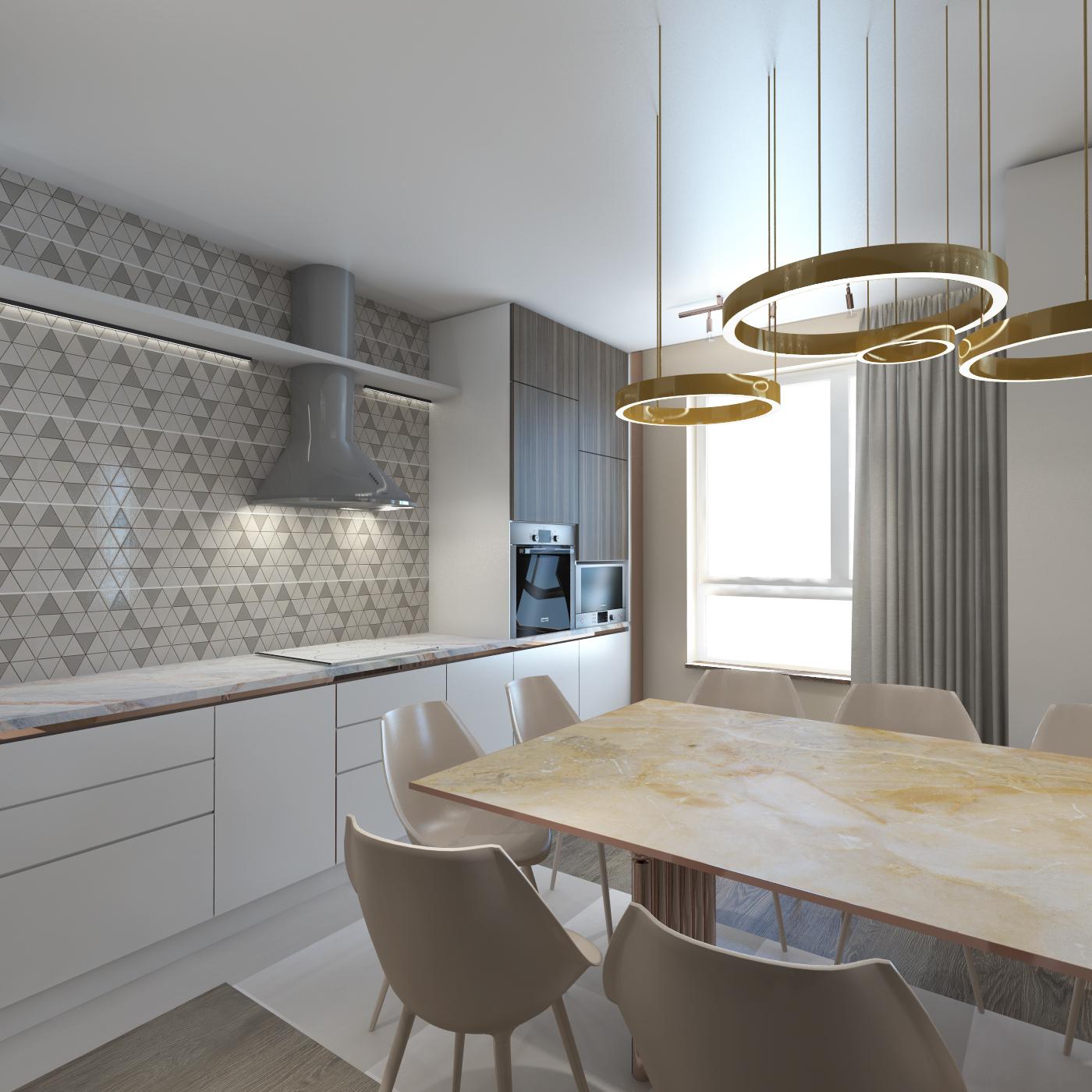 accamera 13 - Кухня-гостиная в стиле Contemporary