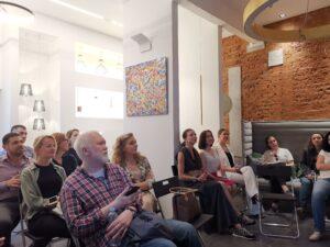 """IMG 20190528 183658 300x225 - 28/05 состоялся семинар """"Новые стандарты проектирования офисов"""""""