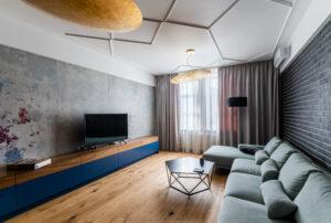 CHE00982 HDR 300x202 - Светильники Panzeri, Morosini и TAL в новом проекте квартиры в Москве!